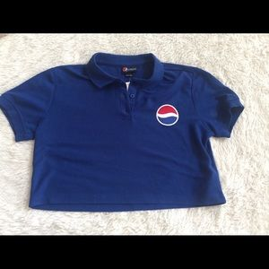 Forever 21 Pepsi crop top